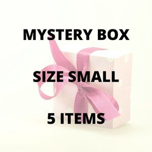 5 Item MYSTERY BOX  with a twist! - Size Small